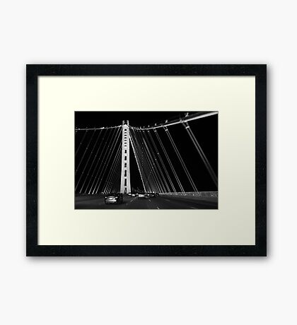 San Francisco-Oakland Bay Bridge Framed Print
