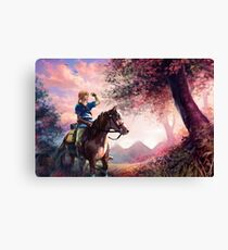 Link - Breath Of The Wild Canvas Print