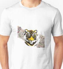 Mehndi Tiger  T-Shirt
