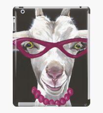 Lustige Ziegenkunst, Ziege in der Glaskunst iPad-Hülle & Klebefolie