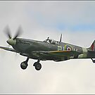Spitfire landing by SWEEPER