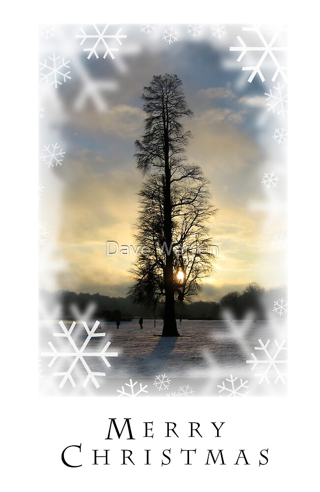 Christmas Card 5 by Dave Warren