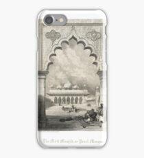 Moti Masjid The Pearl Mosque Agra, India iPhone Case/Skin