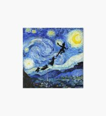 Peter Pan Starry Night Art Board