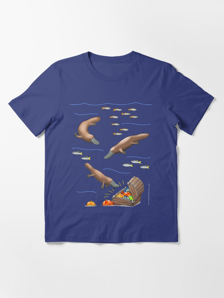 Alternate view of Platypus and Christmas Treasure Essential T-Shirt