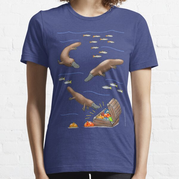 Platypus and Christmas Treasure Essential T-Shirt