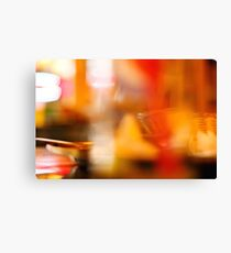 Abstract colorful blurred background Canvas Print