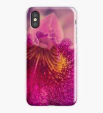 orchid macro iPhone Case/Skin