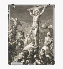 Crucifixion of Christ Engraving 1839 iPad Case/Skin
