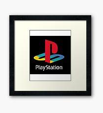 PlayStation Logo  Framed Print