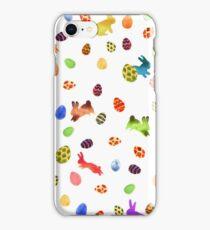 Joyeux Pâquetchwork iPhone Case/Skin