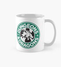 Dungeons & Dragons Starbucks Parody Mashup Mug