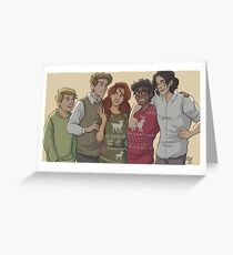 marauders group Greeting Card