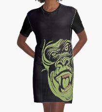 Gorilla Warfare Graphic T-Shirt Dress
