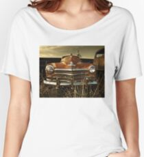 Abandoned 1947 Plymouth Special Deluxe Women's Relaxed Fit T-Shirt