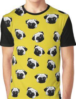 Pug dog pattern Graphic T-Shirt