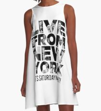 'Live From New York' - Saturday Night Live Early Cast A-Line Dress