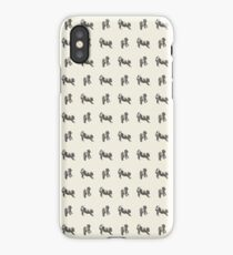 Harry the Wire Fox Terrier iPhone Case/Skin