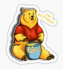 Oh Bother Sticker