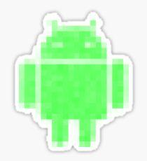 PixelatedDroid Sticker