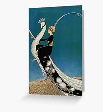 George Wolfe Plank Art Deco Magazine Cover 7 Greeting Card