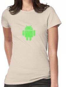 PixelatedDroid Womens Fitted T-Shirt