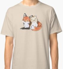 FOX AND OWL BUDDIES Classic T-Shirt