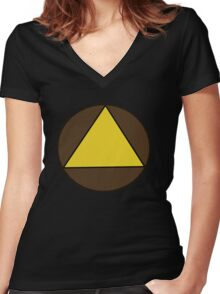Legion (Triangle) Women's Fitted V-Neck T-Shirt