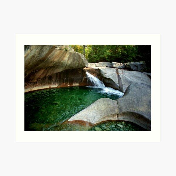 The basin New Hampshire Art Print