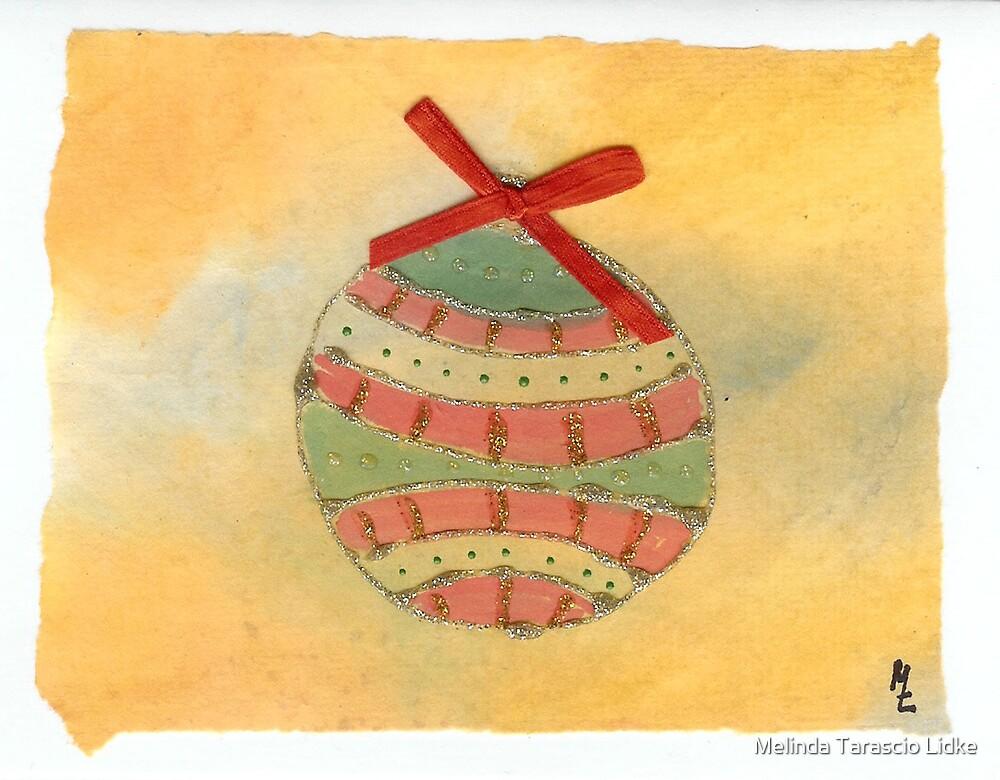 Christmas Ball Ornament  2 by Melinda Tarascio Lidke