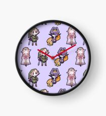 Legend of Zelda: Twilight Princess - Chibis Clock
