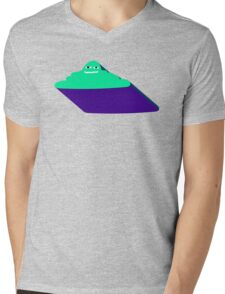 Cloudy Mind Mens V-Neck T-Shirt