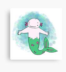 Merxolotl Canvas Print
