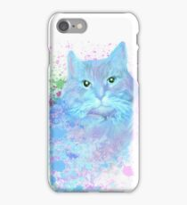 Blue Kitty iPhone Case/Skin