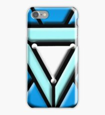 arc reactor tony logo iPhone Case/Skin