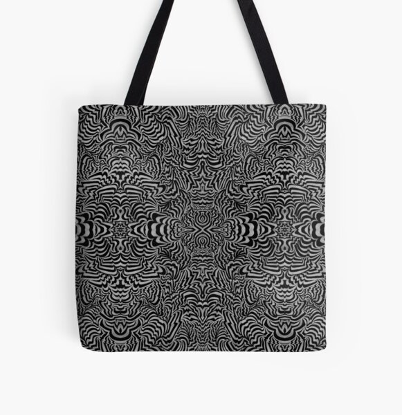 The Space In Between the Microtubules All Over Print Tote Bag