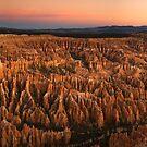 Bryce Twilight Panorama by Nick Johnson