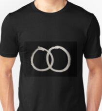 Hobo Sign - 073 - Vagrants Hobos Arrested On Sight Inverted Unisex T-Shirt