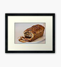 slice  baked sweet bread  Framed Print