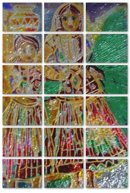 Glass Painting... by satya