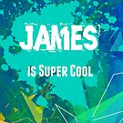 James is Super Cool by nadinestaaf