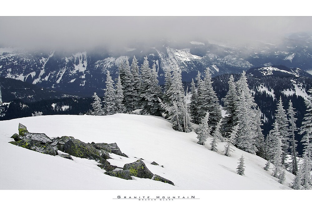 Washington  Granite Mountain 7754 ft. by psychedelicmind