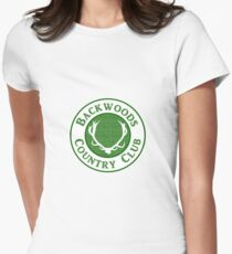 Backwoods Country Club Women's Fitted T-Shirt