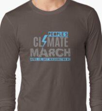 Climate March Washington DC  Long Sleeve T-Shirt