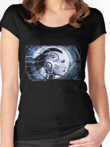 INTERFACE Women's Fitted Scoop T-Shirt
