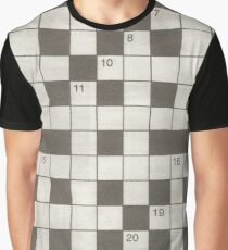 Crossword puzzle Graphic T-Shirt