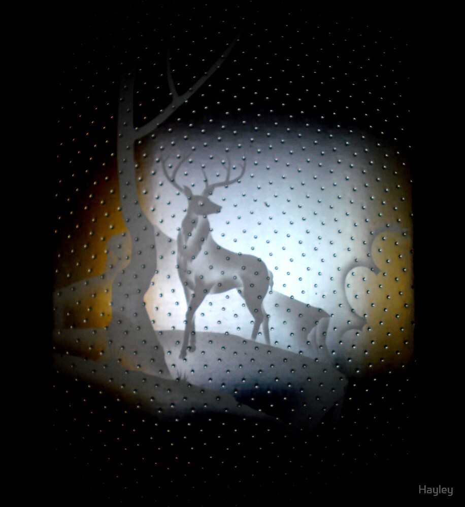 Frosted Reindeer by Hayley