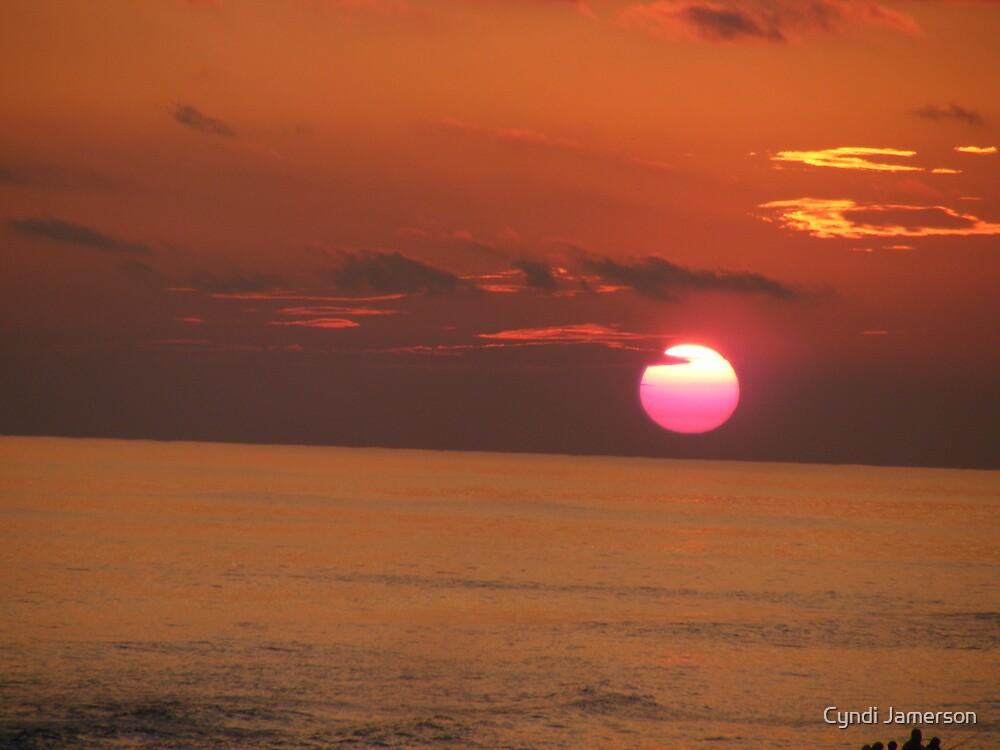 Setting Sun by Cyndi Jamerson