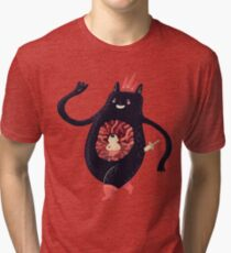 King eats King Tri-blend T-Shirt