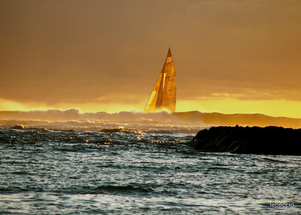 Sailboat in Hawaii by lebeccio